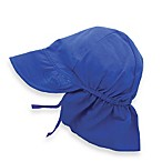i play.® Newborn Sun Flap Hat in Royal Blue