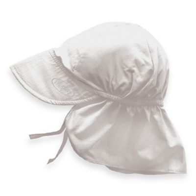 i play.® Toddler Sun Flap Hat in White