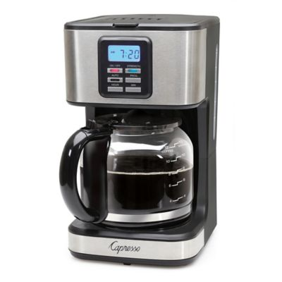 Capresso 174 Sg220 12 Cup Programmable Coffee Maker In Black