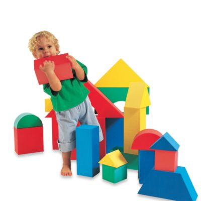 Edushape® Giant Block Toys (Set of 16)