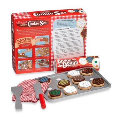 Melissa & Doug® Wooden Slice and Bake Cookie Set