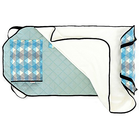 Urban Infant Seattle Tot Cot Toddler Nap Mat In Blue Www