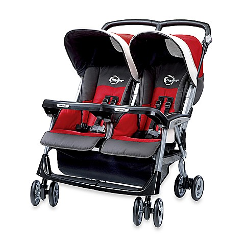 aria twin 60 40 corallo stroller by peg perego bed bath. Black Bedroom Furniture Sets. Home Design Ideas