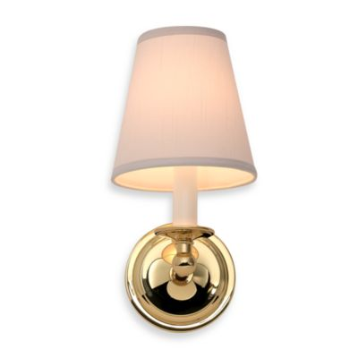 London Terrace Polished Brass Single Light