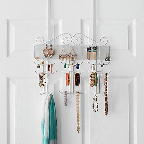 Over The Door Jewelry Organizer Bed Bath Amp Beyond