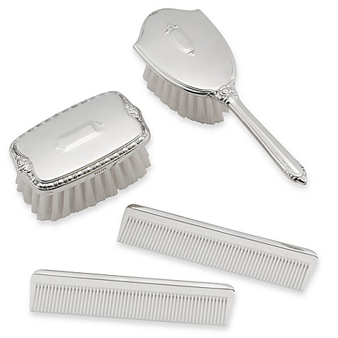 Pewter Brush and Comb Gift Box Sets