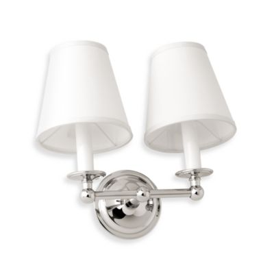 London Terrace Chrome Double Light