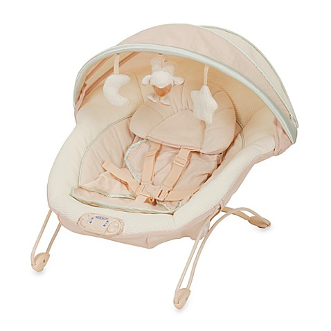 Graco Soothe And Swaddle Bouncer Seat Oasis Bed Bath