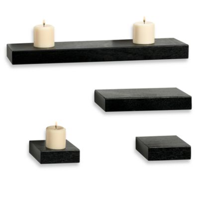 Melannco Floating Shelves (Set of 4)