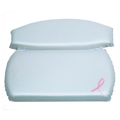 Better Bath® Pink Ribbon Spa Bath Pillow