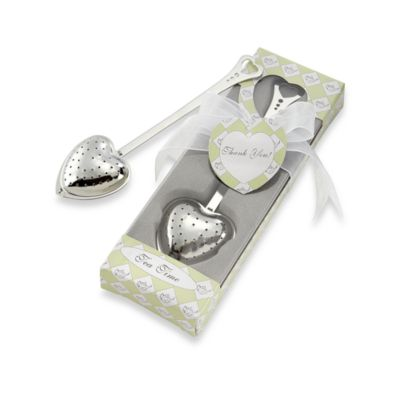 Kate Aspen® Tea Time Heart Tea Infuser Favor in Tea Time Gift Box