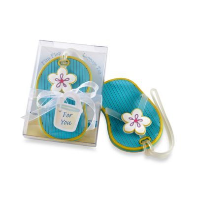 Kate Aspen® Flip-Flop Luggage Tag Favor