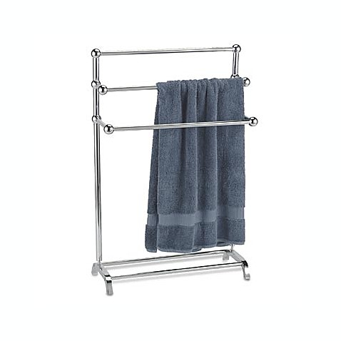 Chrome Finish Brass 3 Tier Towel Stand Bed Bath Beyond