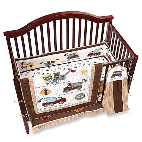 Kids Line™ Stop-N-Go 6-Piece Crib Bedding Set