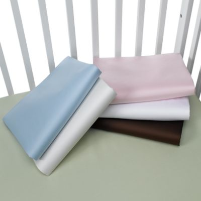 Organic Crib Sheet by Kids Line™ in Blue - from kidsline