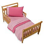 4-Piece Toddler Bedding Set in Pink Petal