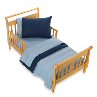 Blue Skies 4-Piece Toddler Bedding Set
