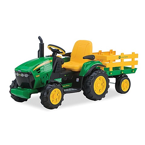 Peg Perego John Deere 12 Volt Ride On Ground Force With