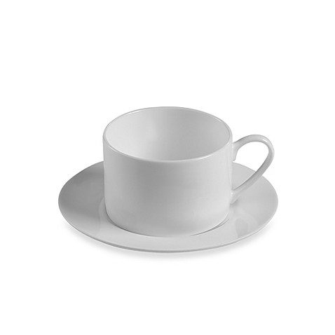 Fitz and Floyd® Nevaeh Rim 8-Ounce Cup and 6-Inch Saucer