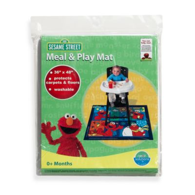 Accessories; > Neat Solutions® Sesame Street® Meal and Play Floor Mat