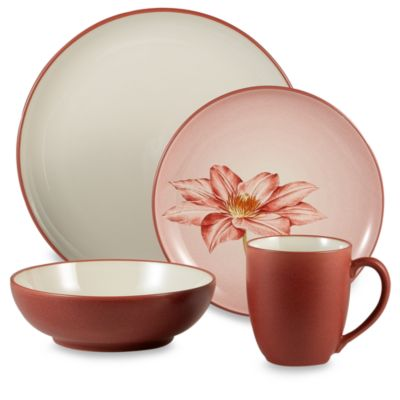 Colorwave Raspberry 32-Piece Dinnerware Set by Noritake