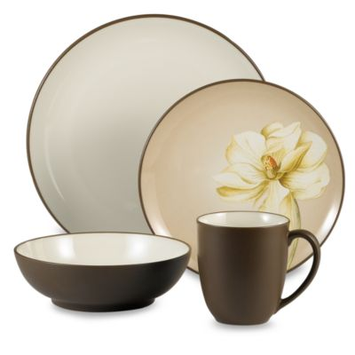 Colorwave Chocolate 32-Piece Dinnerware Set by Noritake