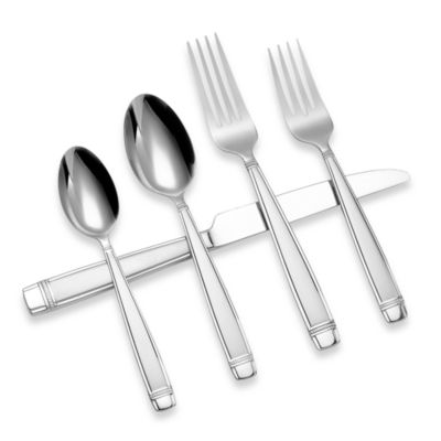 Reed & Barton® Durham Matte 45-Piece Flatware Set