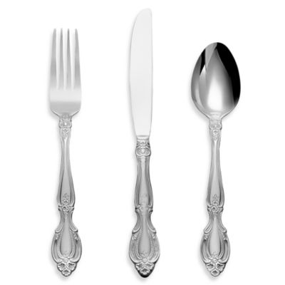 Cambridge® Silversmiths Renaissance 12-Piece Flatware Set