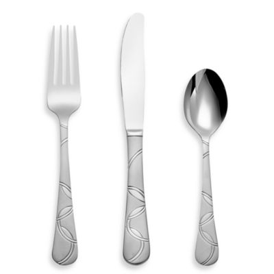 Cambridge® Silversmiths Felicity Sand 12-Piece Flatware Set