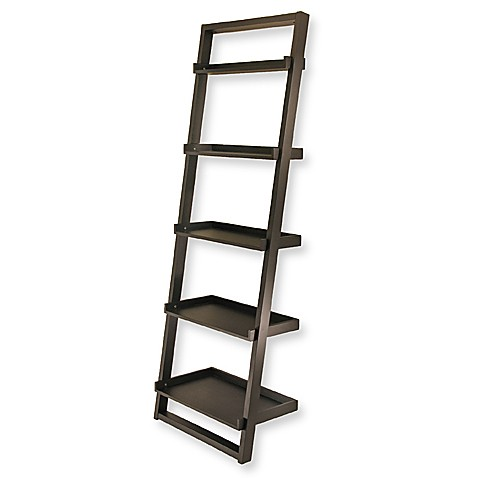 Bailey Leaning 5-Tier Shelf