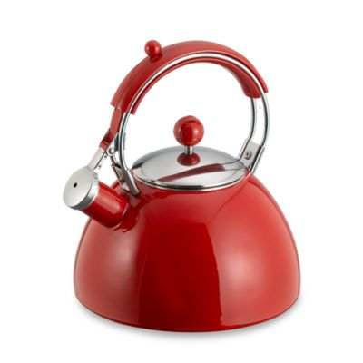 Buy Copco Red Delicious Apple 1 9 Quart Tea Kettle From