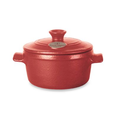 Emile Henry Flame® Top 7-Quart Covered Casserole in Red