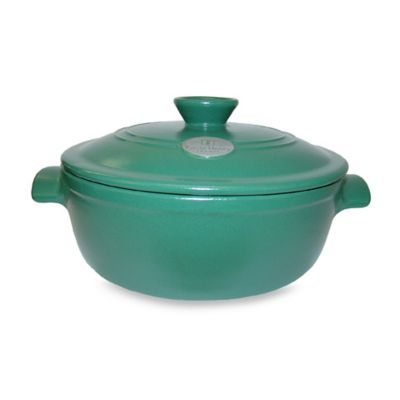 Emile Henry® Flame Top 4.2-Quart Fig Covered Casserole