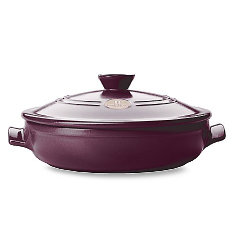 Emile Henry Flame Top 12-Inch Fig Covered Braiser