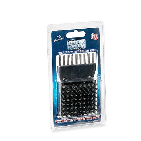 Replacement Grill Daddy® Grill Cleaning Tool Brush Head Kit