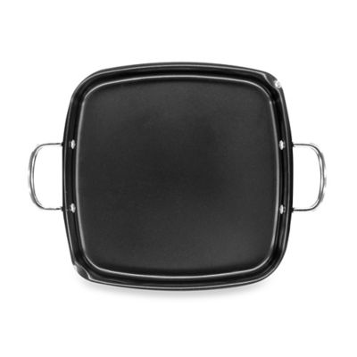 Nonstick Oil Rubbed Bronze Deep Dish Griddle