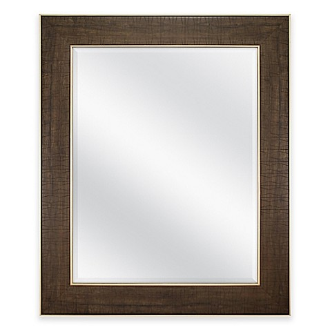 Buy 30 inch x 36 inch rectangular embossed trapezoid for Mirror 30 x 36