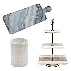 Godinger Marble Kitchen Accessories Collection by Godinger