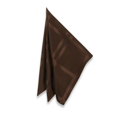Origins Microfiber Napkin in Chocolate (Set of 2)