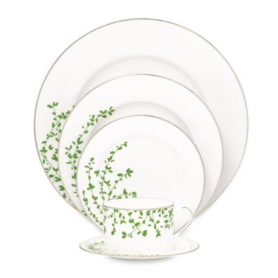 kate spade new york Gardner Street Green 5-Piece Place Setting