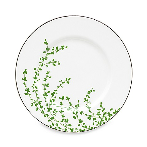 kate spade new york Gardner Street Green 9-1/4-Inch Accent Plate
