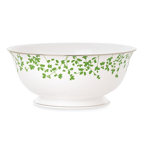 kate spade new york Gardner Street Green 8-1/2-Inch Vegetable Serving Bowl
