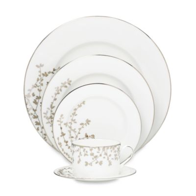 kate spade new york Gardner Street™ Platinum 5-Piece Place Setting