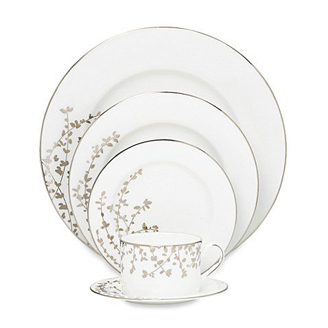 kate spade new york Gardner Street Platinum Dinnerware