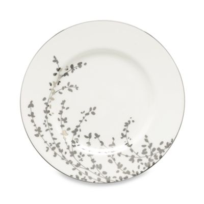 kate spade new york Gardner Street Platinum 9-1/4-Inch Accent Plate