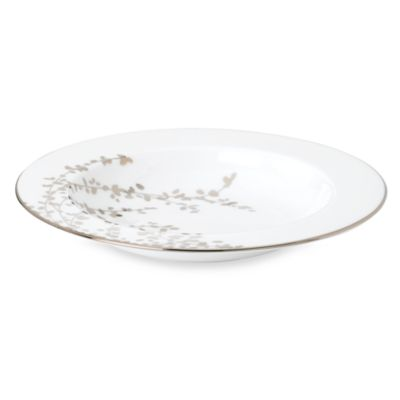 kate spade new york Gardner Street Platinum 9-Inch Rim Soup Bowl