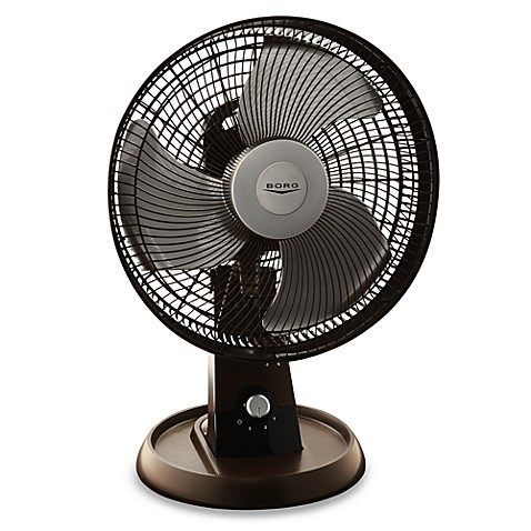 Borg 12 Quot Oscillating Table Fan Bed Bath Amp Beyond