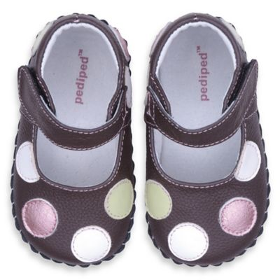Pediped™ Size 6-12M Giselle Baby Shoes in Brown