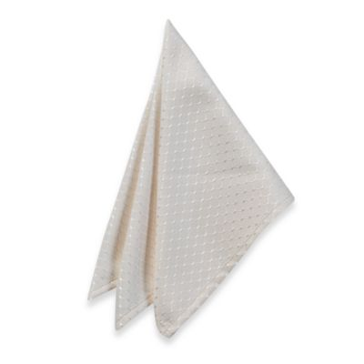 McKenna Microfiber Napkin in Cream (Set of 2)