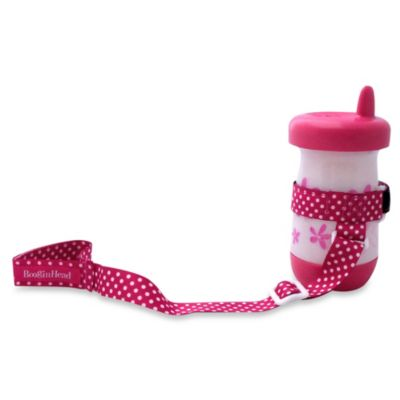 BooginHead® SippiGrip Holder in Pink Dot